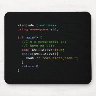 C++ O laço infinito come o código Mousepad do sono