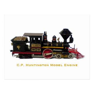 C.P. Cartão modelo do motor de Huntington Cartoes Postais