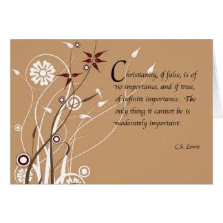C.S. Cartão de Lewis