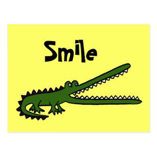 CA cartão engraçado de Croc