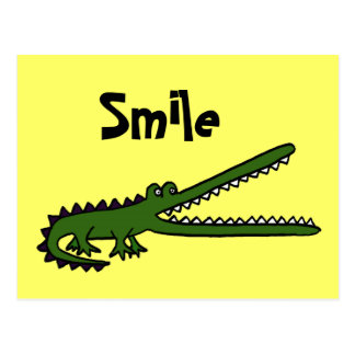 CA cartão engraçado de Croc Cartão Postal