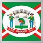 Caarapo Mato Grossodo Sul, Brasil Poster