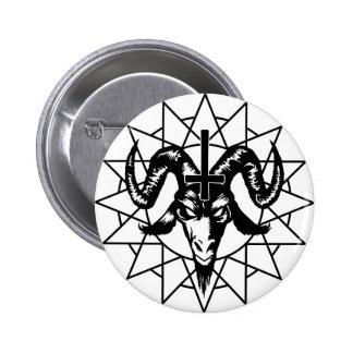 Cabeça com estrela do caos (preto) pins