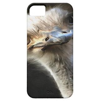 Cabeça da avestruz capa barely there para iPhone 5