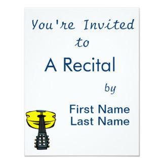 cabeça da guitarra acústica em yellow.png convites personalizado
