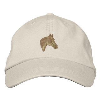 Cabeça de cavalo de um quarto boné bordado