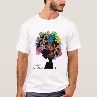 CABEÇA de Colorful×BOMBER Camiseta