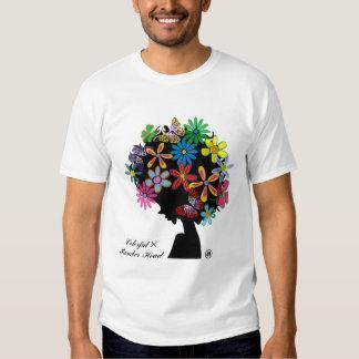 CABEÇA de Colorful×BOMBER T-shirts