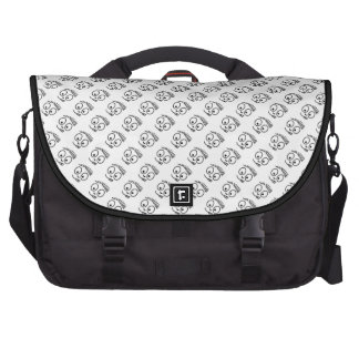 cabeça de desenho mochila para laptop