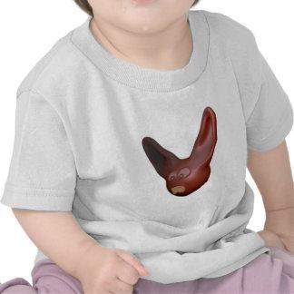 Cabeça de lebre rabbit head tshirts
