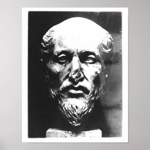 Cabeça de Plotinus Impressão
