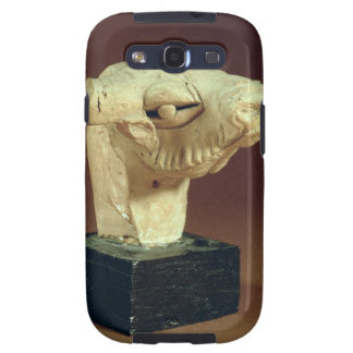 Cabeça do camelo do Terracotta, Mohenjodaro, 2300- Capa Personalizadas Samsung Galaxy S3