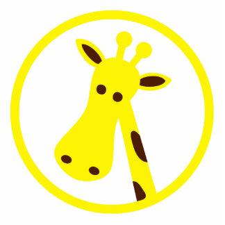 Cabeça do girafa escultura fotos
