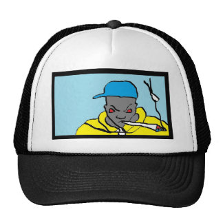 Cabeça do hip-hop bonés