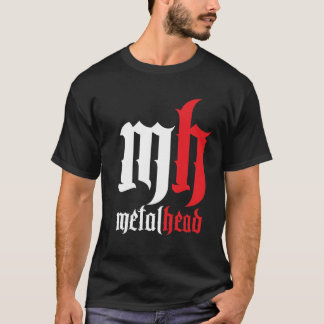 Cabeça do metal com borda! camiseta