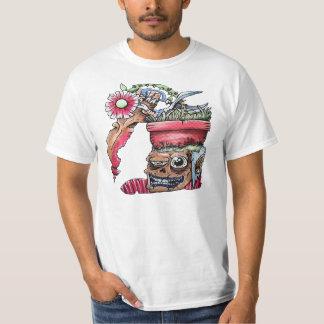 Cabeça do pote do núcleo duro camiseta