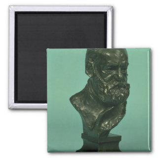 Cabeça do retrato de Victor Hugo (1802-85) (bronze Imãs De Geladeira