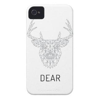 Cabeça do veado dos cervos de Wellcoda impressão Capinhas iPhone 4