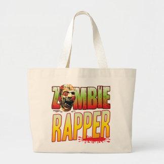 Cabeça do zombi do rapper bolsa