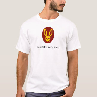 Cabeça mortal do coelho, <Deadly Rabbits> Camiseta