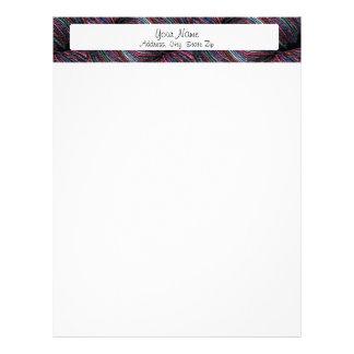 Cabeçalho do fio papel de carta