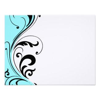 Cabeleireiro à moda Notecards Convite Personalizados