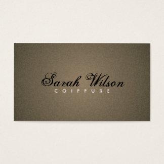 Cabeleireiro - cartões de visitas