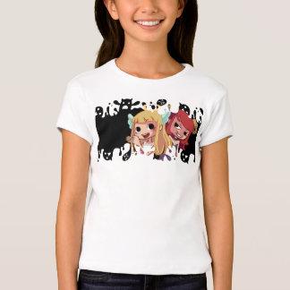 Cabeleireiro diabólico camisetas