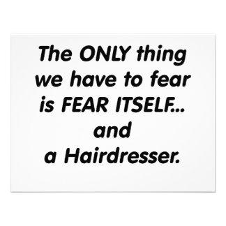 cabeleireiro do medo convite personalizado