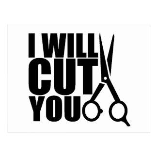 Cabeleireiro ou cabeleireiro - cartão do marketing