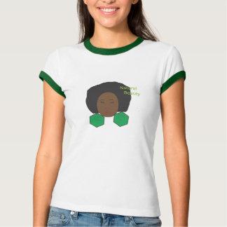 Cabelo natural camiseta