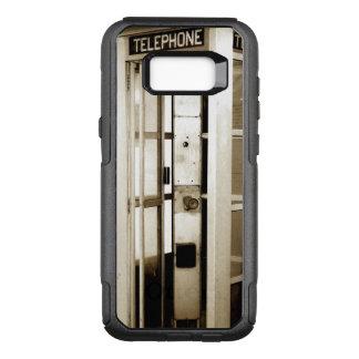 Cabine de telefone abandonada capa OtterBox commuter para samsung galaxy s8+