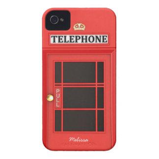 Cabine de telefone britânica de Oldschool Capinhas iPhone 4