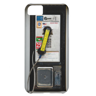 Cabine de telefone engraçada capa para iPhone 5C
