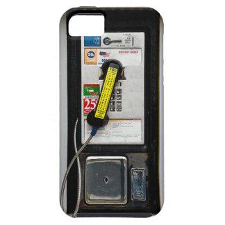 Cabine de telefone engraçada capa para iPhone 5
