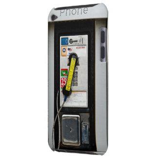 Cabine de telefone engraçada capa para iPod touch