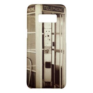 Cabine de telefone velha capa Case-Mate samsung galaxy s8