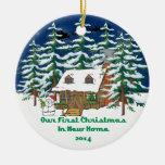 Cabine Home nova do Natal 2014 Ornamento Para Arvore De Natal