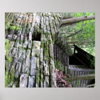 Cabine secreta no poster das madeiras