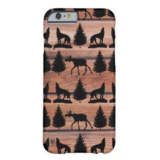Cabine selvagem da montanha da região selvagem do capa barely there para iPhone 6
