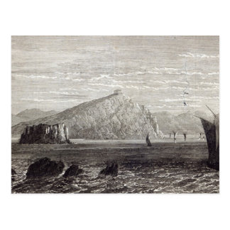 Cabo Colonna, com ruínas do templo de Cartão Postal