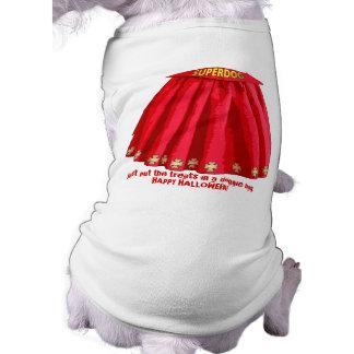 Cabo de SUPERDOG Camisa Sem Mangas Para Cachorro
