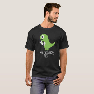 Cabo flexível do tiranossauro da camisa de T Rex T