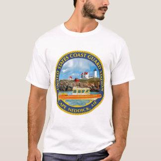 Cabo Neddick da estação de USCG Camiseta