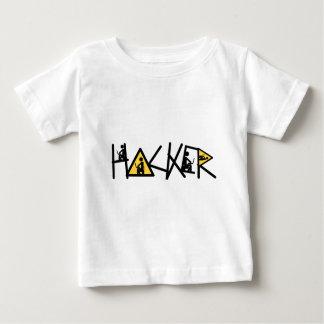Cabouqueiro legal camiseta para bebê