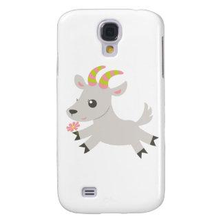 Cabra loquaz dos animais de ABC Capas Personalizadas Samsung Galaxy S4