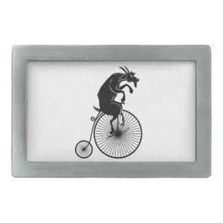 Cabra na bicicleta do vintage
