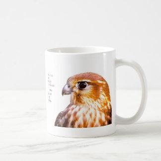 caça em o dia caneca de café