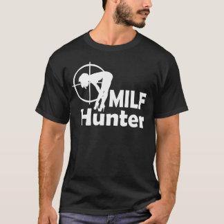 Caçador de MILF (texto branco) Camiseta