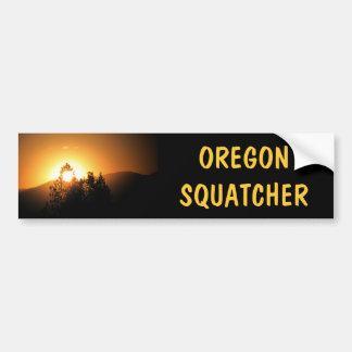 Caçador de Oregon Squatcher Bigfoot Adesivo Para Carro